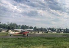 Il boero aereo prima decolla fotografie stock