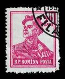 Il bollo ha stampato in Romania dalle professioni di serie Immagini Stock Libere da Diritti