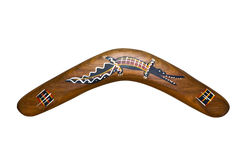 Il boomerang Fotografia Stock