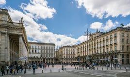 Il Bordeaux, Francia, 9 può 2018 - il grande ` grande Thé del teatro dell'opera fotografie stock libere da diritti