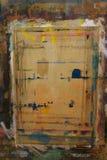 Il bordo di Painterspruzzato con il fondo 9 di colori fotografia stock libera da diritti