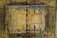 Il bordo di Painterspruzzato con il fondo 3 di colori immagini stock libere da diritti