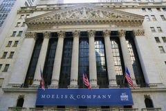 Il Borsa di New York Fotografia Stock