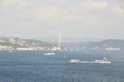 Il Bosphorus Immagine Stock