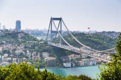 Il Bosphorus, Costantinopoli Immagini Stock