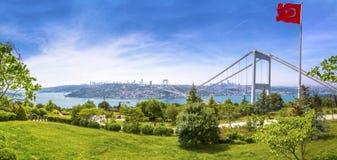 Il Bosphorus, Costantinopoli Fotografia Stock Libera da Diritti