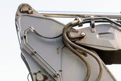 Il braccio a macchina idraulico convoglia l'escavatore Fotografie Stock Libere da Diritti