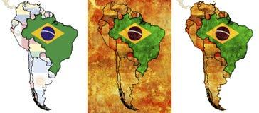 Il Brasile Immagini Stock Libere da Diritti