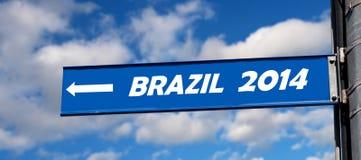 Il Brasile 2014 Immagine Stock Libera da Diritti