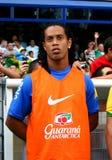 Il Brasile contro l'Algeria Immagini Stock Libere da Diritti