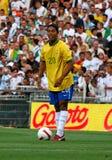 Il Brasile contro l'Algeria Fotografia Stock