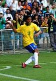 Il Brasile contro l'Algeria Fotografie Stock