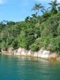 Il Brasile: Costa Verde di stupore ( fotografie stock