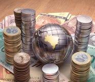 Il Brasile dorato Immagine Stock