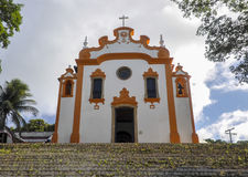 Il Brasile, Fernando de Noronha, chiesa Fotografia Stock Libera da Diritti