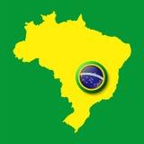 Il Brasile. Fondo per le vostre presentazioni royalty illustrazione gratis