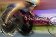 Il Brasile - Rio De Janeiro - gioco paralimpico 2016 un'atletica dei 1500 tester Fotografia Stock Libera da Diritti