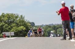 Il breakaway - Tour de France 2017 Fotografia Stock Libera da Diritti