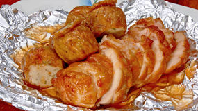 Il brodo di pollo ed il brodo di pollo sono molto deliziosi fotografie stock