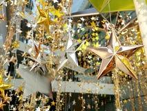 Il bronzo dell'argento dell'oro stars la decorazione Fotografia Stock Libera da Diritti