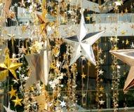 Il bronzo dell'argento dell'oro stars la decorazione Fotografia Stock