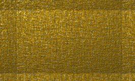 Il bronzo metallico ruvido ha strutturato la tela con una struttura per gli ambiti di provenienza astratti e le progettazioni cre illustrazione di stock