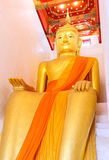 Il Buddha antico in 1.000 anni Fotografie Stock