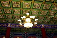 Il buddha-corridoio di Shaolin Temple fotografie stock libere da diritti