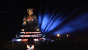 Il Buddha gigante Fotografia Stock Libera da Diritti
