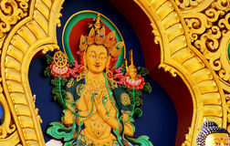 Il Buddha tibetano Fotografie Stock