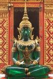 Il Buddha verde smeraldo Fotografia Stock Libera da Diritti