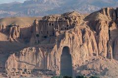 Il Buddhas di Bamiyan Fotografia Stock Libera da Diritti