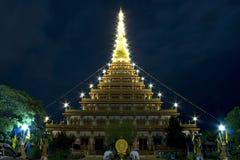 Il buddista dentro khonkaen la Tailandia. Fotografia Stock Libera da Diritti