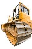 Il bulldozer giallo pesante Immagini Stock Libere da Diritti