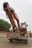 Il bulldozer pesante della costruzione Fotografie Stock Libere da Diritti