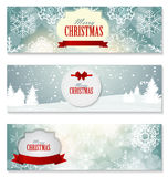 Il buon anno e sposa il fondo di Natale Fotografia Stock