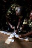 Il Burundi Immagini Stock