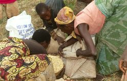 Il Burundi Immagine Stock Libera da Diritti