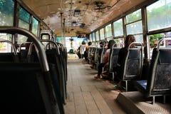 Il bus della Tailandia Fotografie Stock