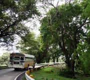 Il bus nella repubblica Panama Immagine Stock Libera da Diritti