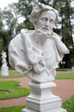 Il busto di Aristotele a St Petersburg Fotografia Stock Libera da Diritti