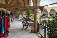 Il Buyuk Khan, Nicosia, Cipro Fotografia Stock Libera da Diritti