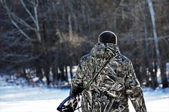 Il cacciatore fotografie stock
