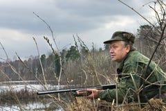 Il cacciatore Immagine Stock