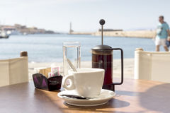 Il caffè di mattina immagini stock