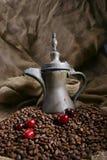 Il caffè ha progettato 4 Immagine Stock