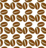Il caffè semina il fondo Immagini Stock Libere da Diritti