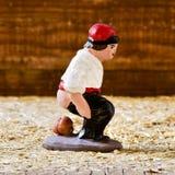 Il caganer, un carattere catalano tipico nelle scene di natività immagine stock libera da diritti