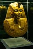 IL CAIRO, EGITTO 25 05 Maschera 2018 di Pharao nell'attrazione principale di Il Cairo del museo egiziano immagine stock
