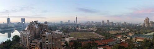 Il Cairo panoramico Fotografie Stock